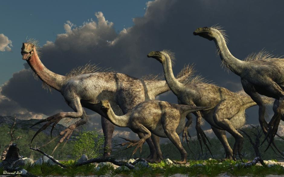 Therizinosaurus, Foto: dinosaurios.org