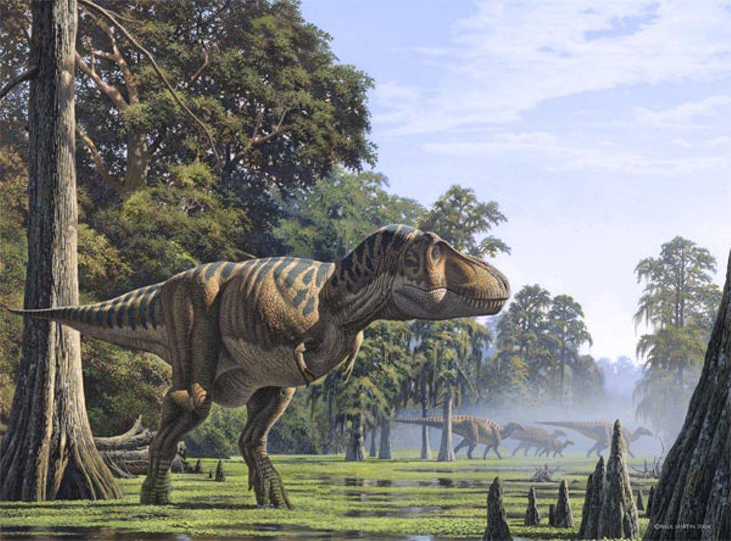 Tyrannosaurus, Foto: pokazuha.ru