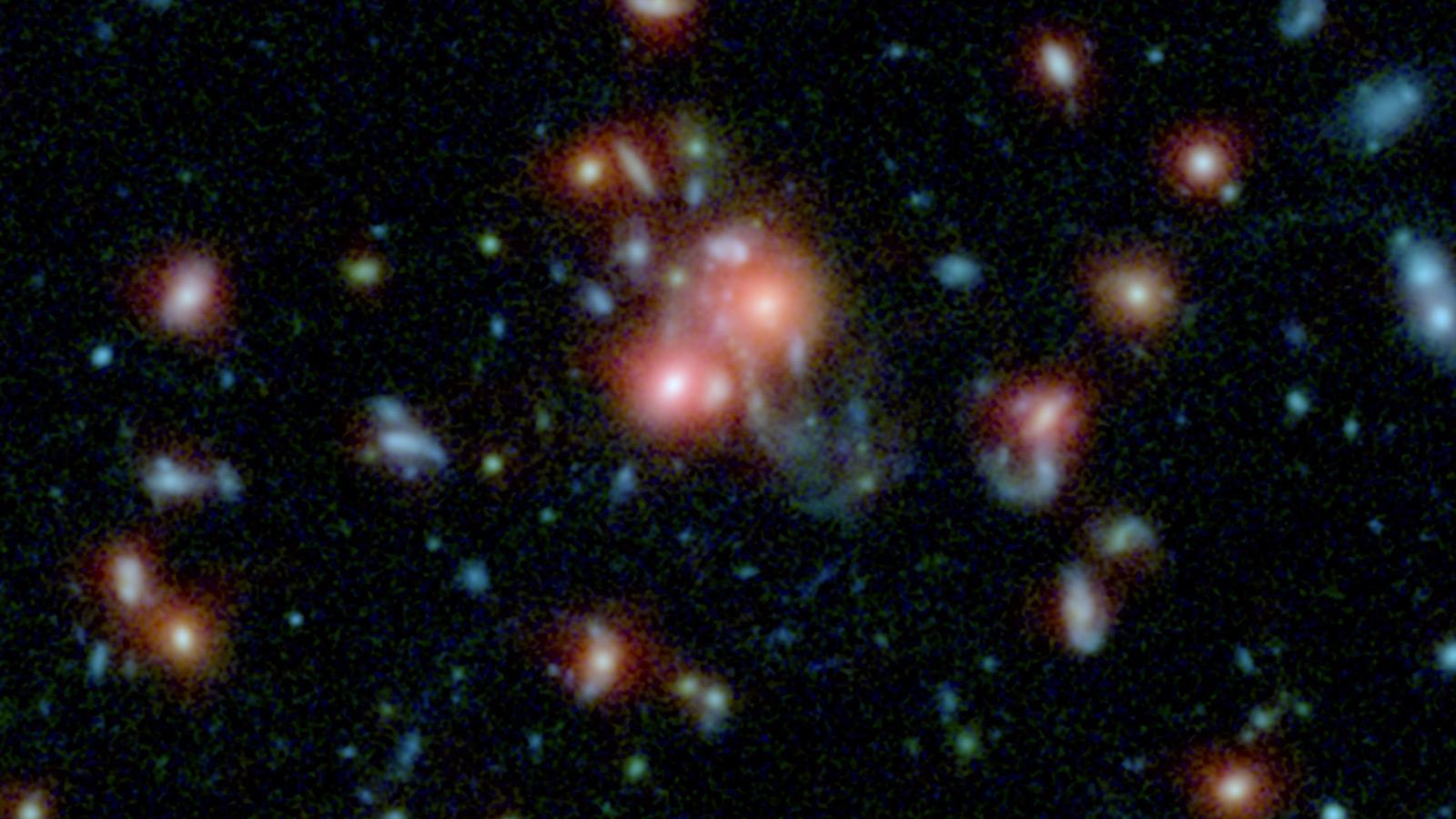 Superroiurile si evolutia lor de la inceputurile universului