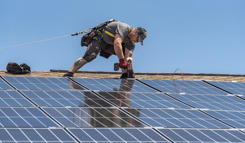 montare panouri solare