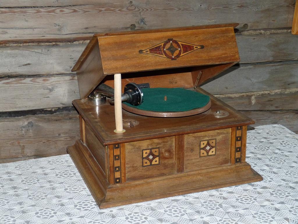 fonograf vechi