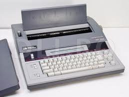 Masina de scris electronica