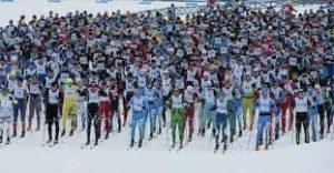 Competitie de schi in Finlanda
