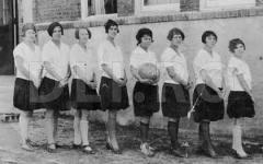 Primele echipe feminine de baschet