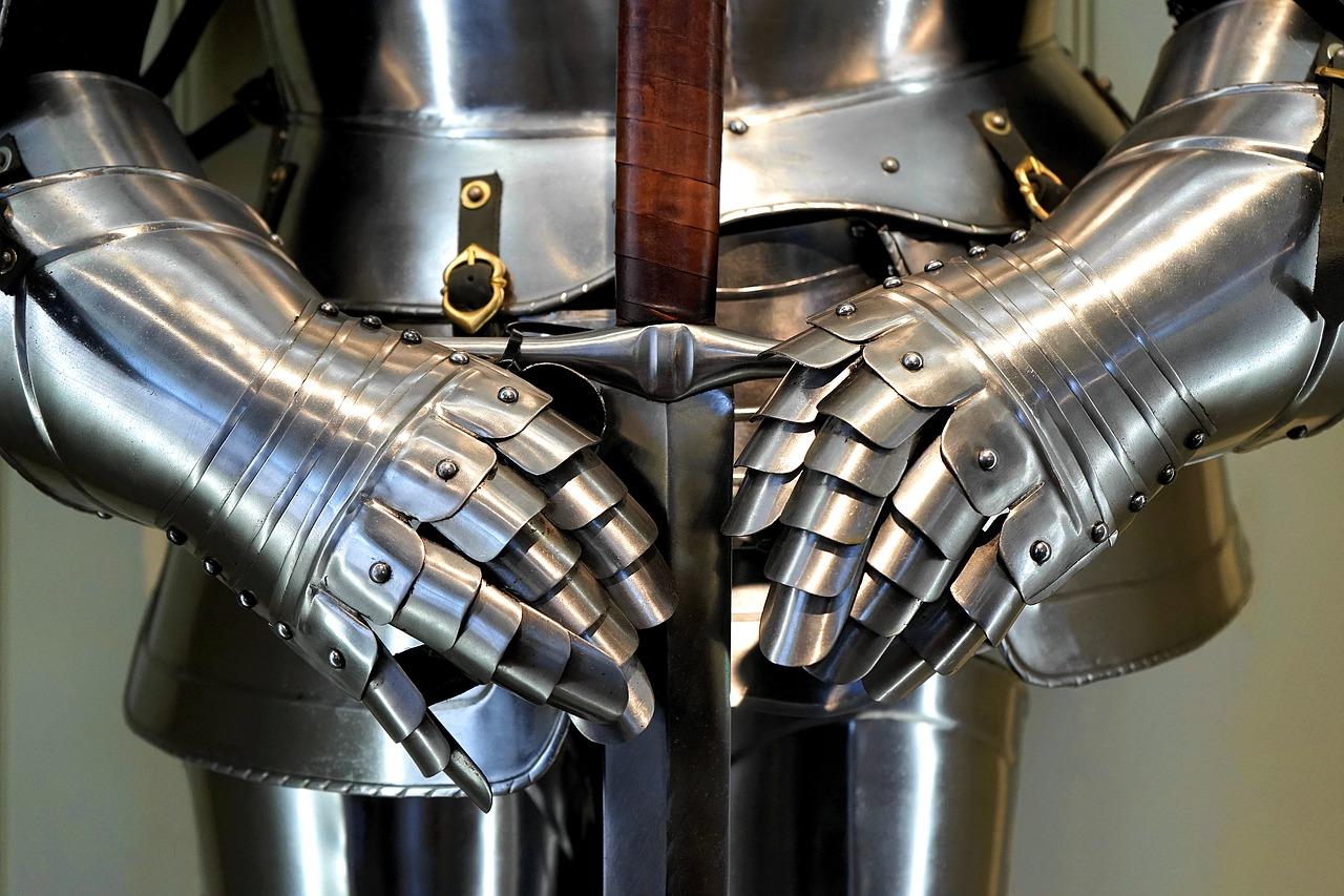 Armura pentru maini