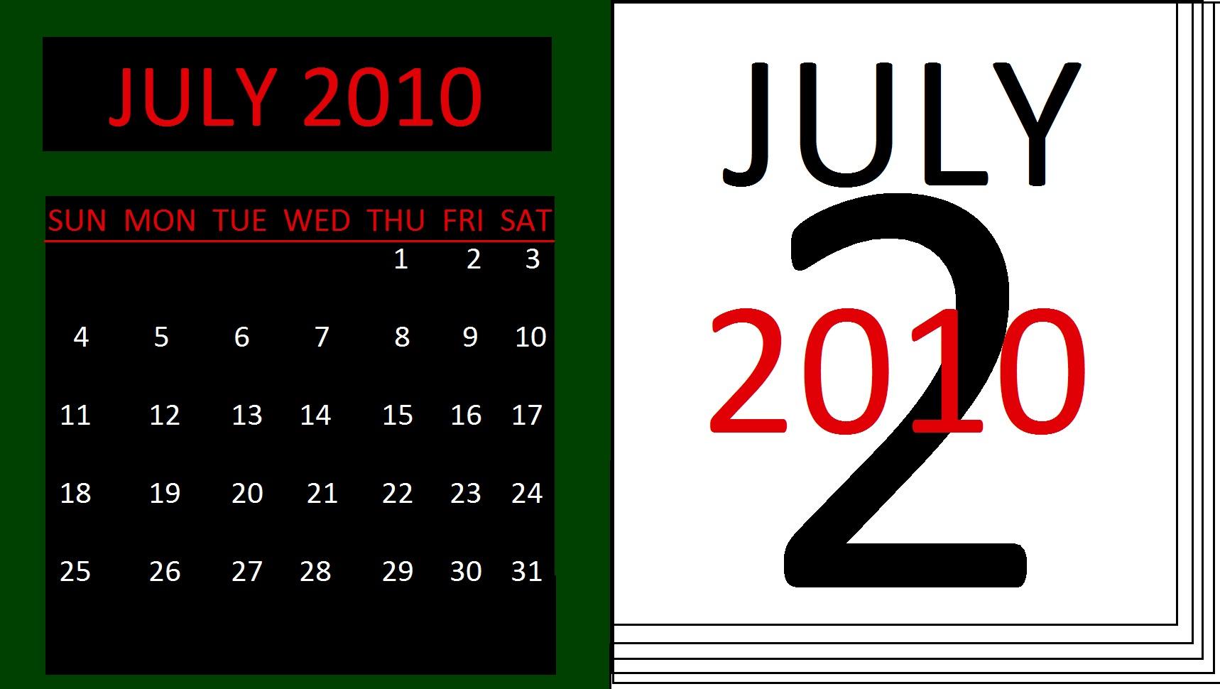 Calendar Gregorian11