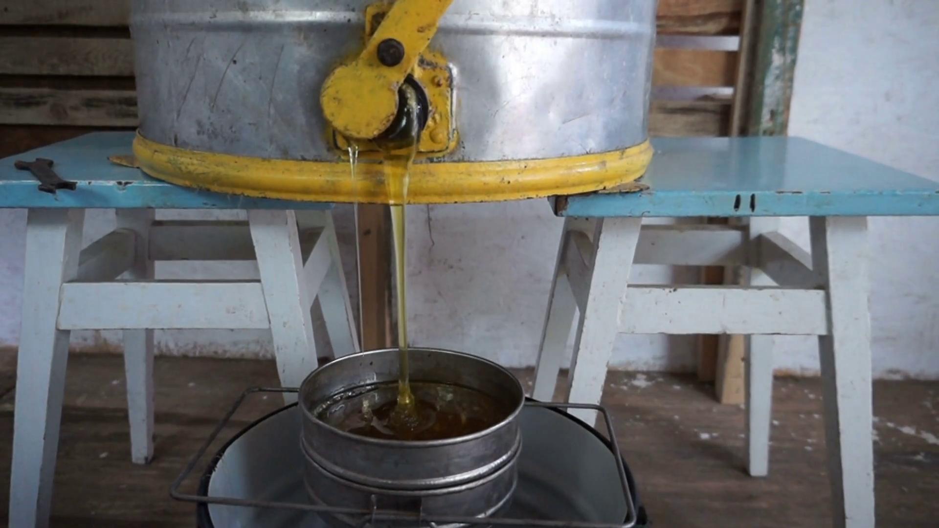 Extractia de miere