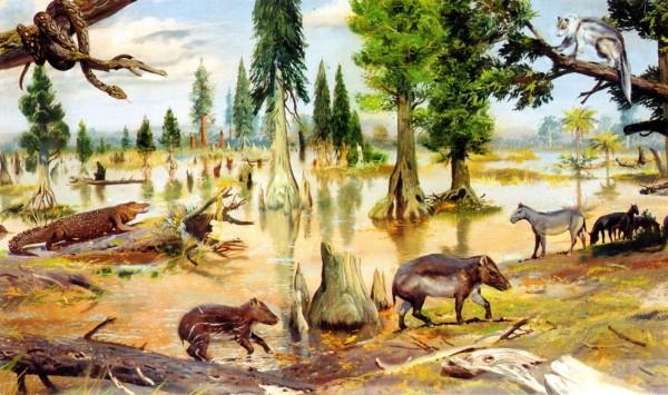 Fauna din Eocen, Zdenek Burian
