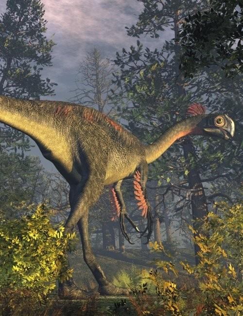 Gigantoraptor erlianensis, Foto: daz3d.com