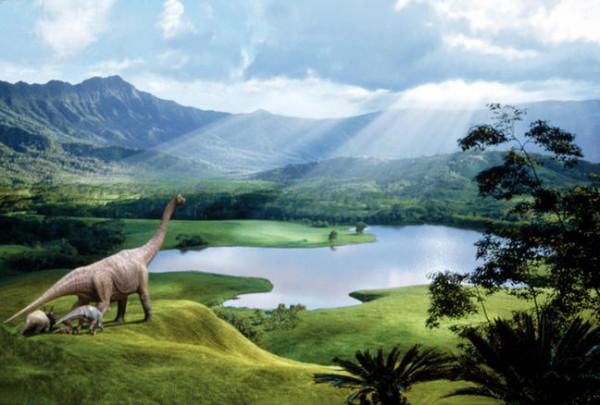Dinozauri in Cretacic, Foto: iranpress.mihanblog.com