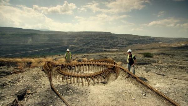 Titanoboa – Monster Snake 2012, Schelet, Foto: blu-ray.com