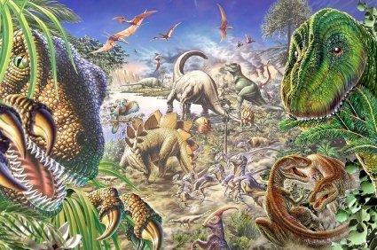 Dinozauri din perioada Cretacicului, Foto: kids-dinosaurs.com