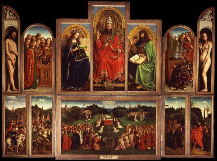 Jan Van Eyck Judecatorii Drepti, Foto: thehistoryblog.com