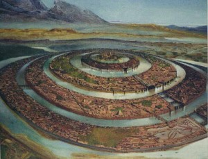 Atlantis - teoria lui Platon, foto: crystalinks.com