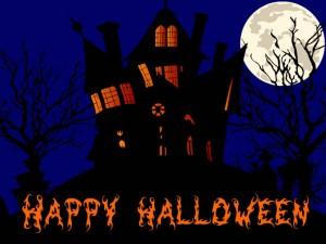 Felicitare de Halloween, foto: sharkysmanduroh.com.au
