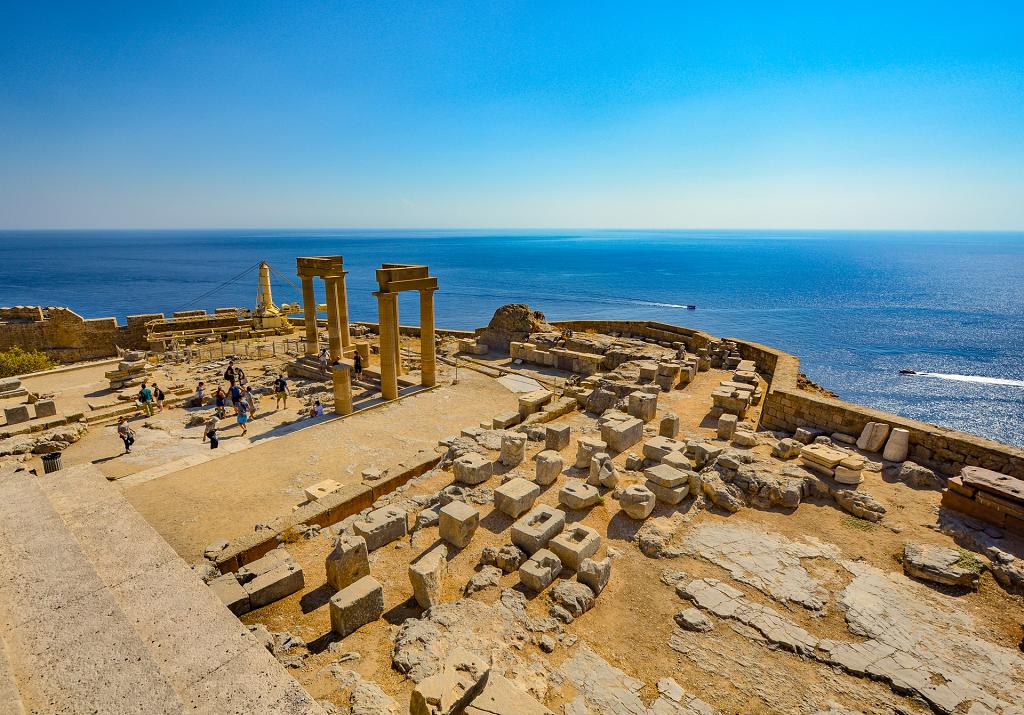 Acropola din Rhodos
