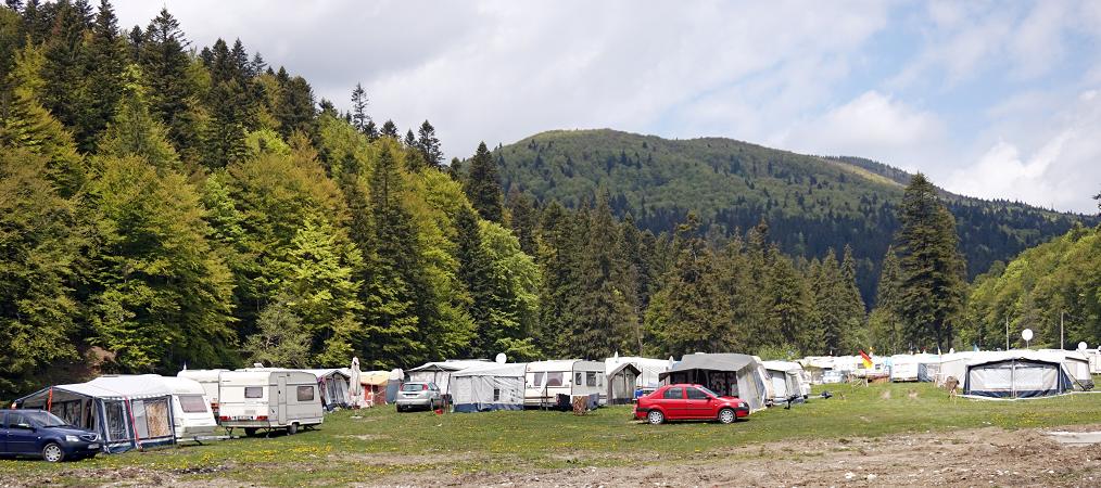 camping romania