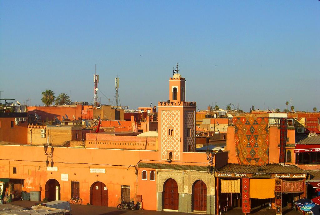 Marrakech town
