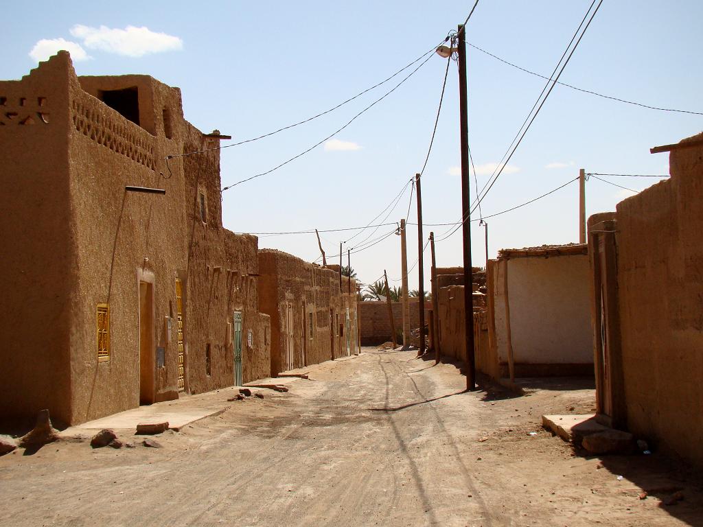 Merzouga town