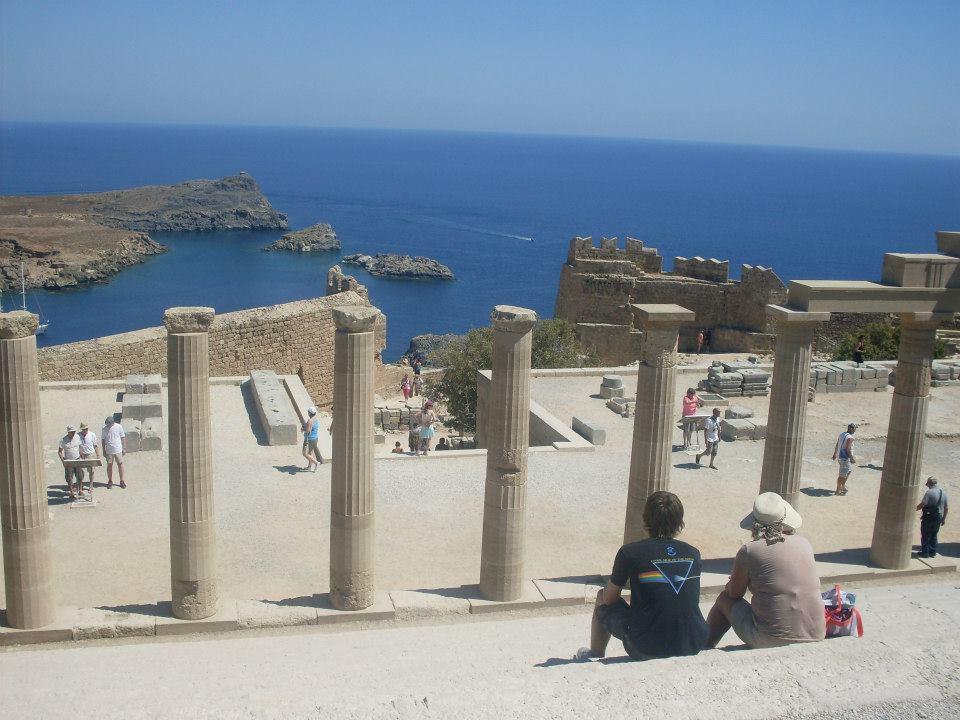 Acropolele din Lindos