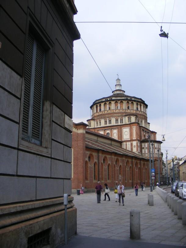 3 milano - biserica sf maria grazie cina cea de taina