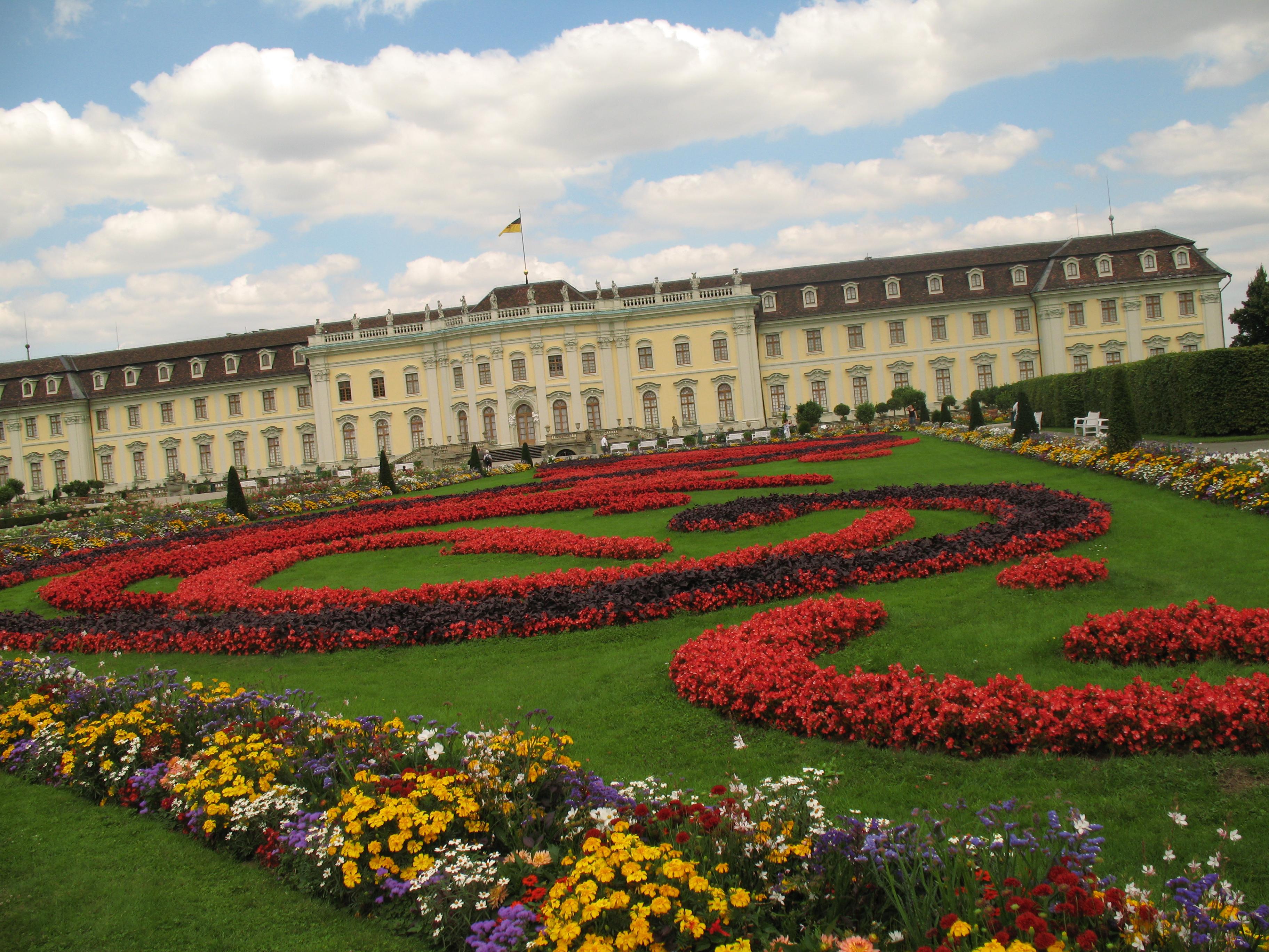 gradinile palatului