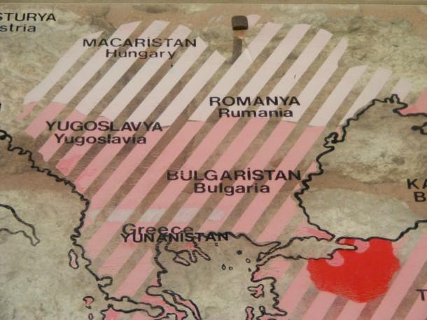 5 topkapi - harta cu romania