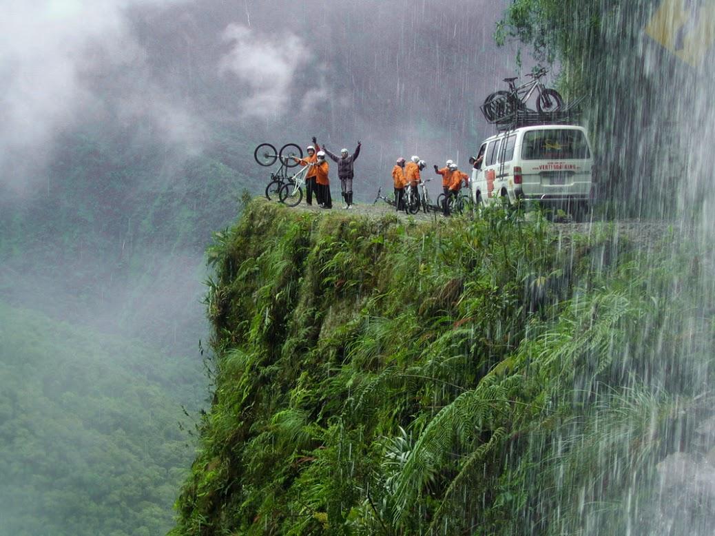 Death-Road-of-Bolivia