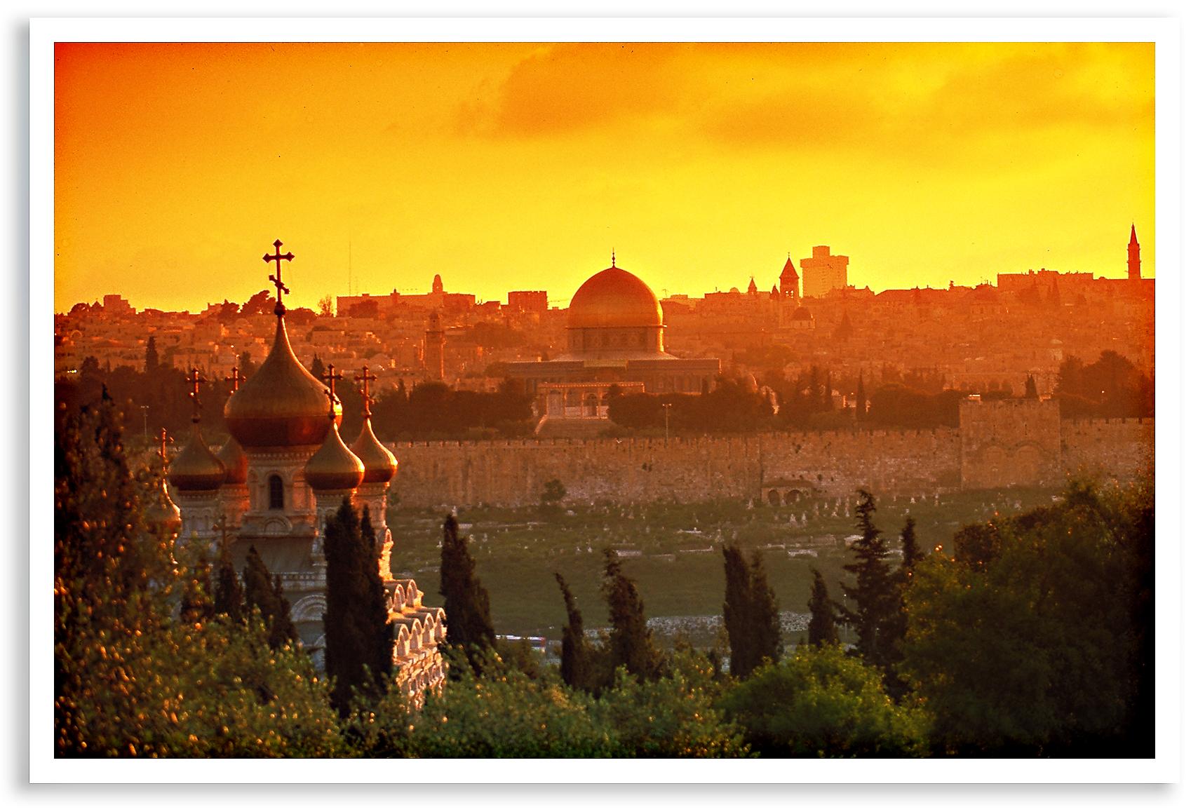 Jerusalem-Sunset-view