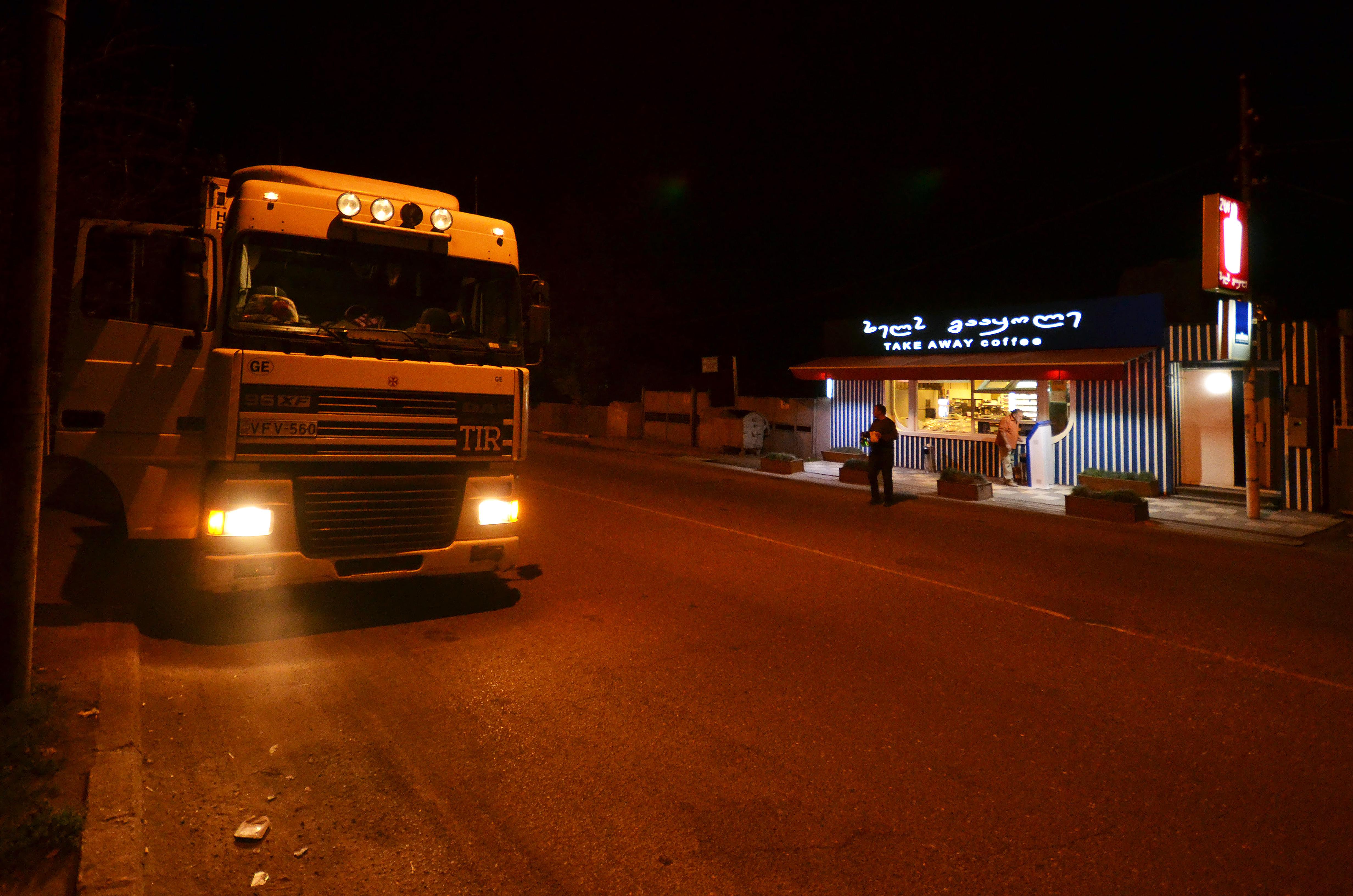 Poza 1 - Autostopul pe timp de noapte este greu chiar #U0219i prin Sudul Turciei.
