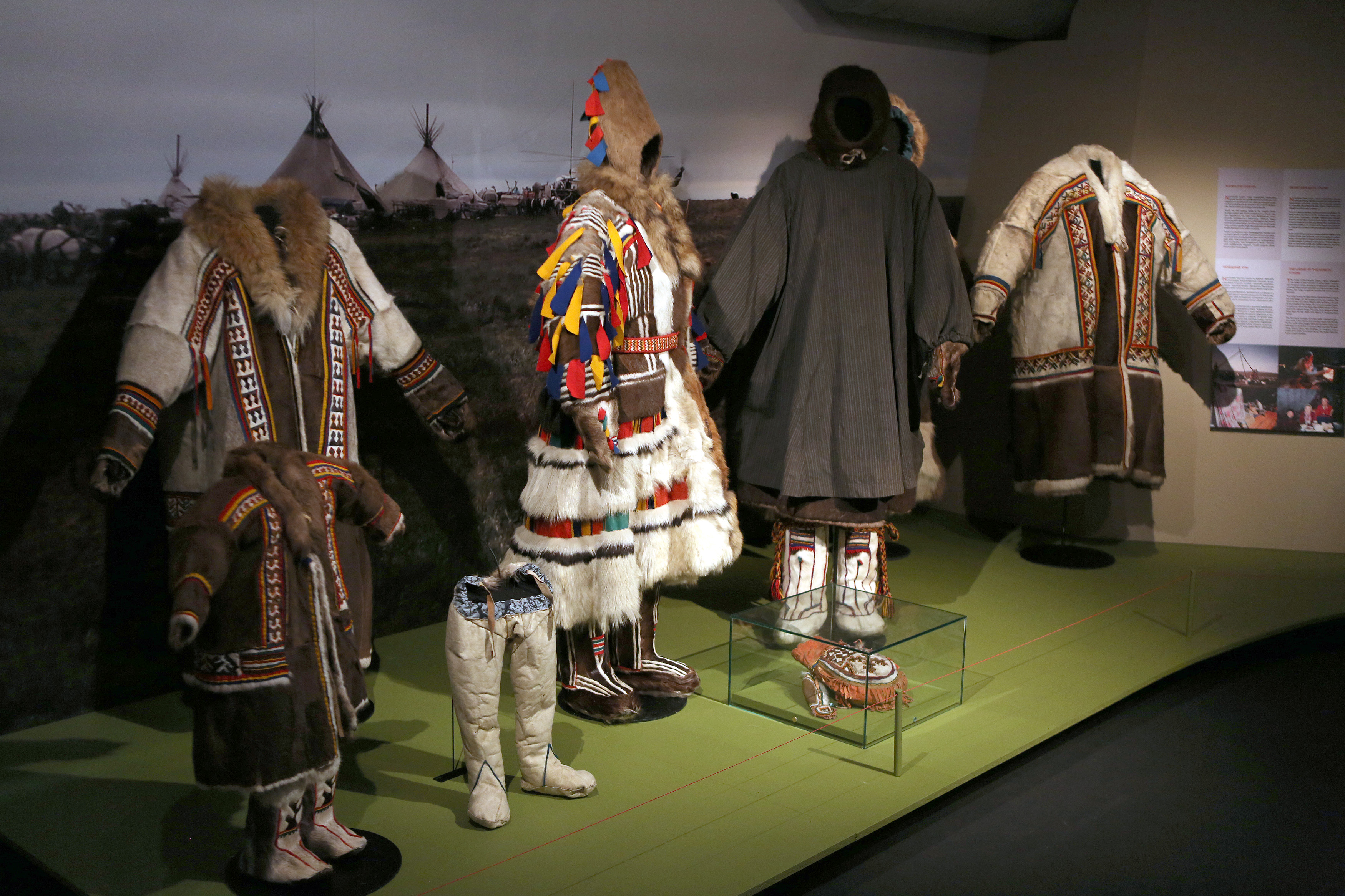 Siida Sámi Museum (Inari, Finland), temporary exhibition: Nenets - A People of the Tundra