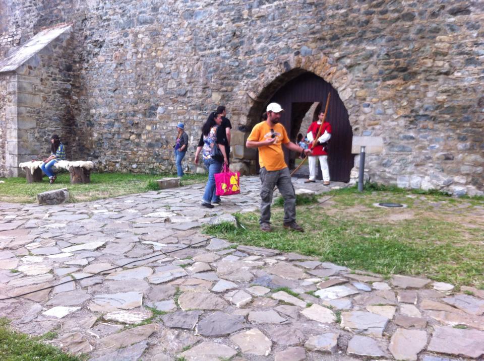 Intrarea Cetatii Neamt