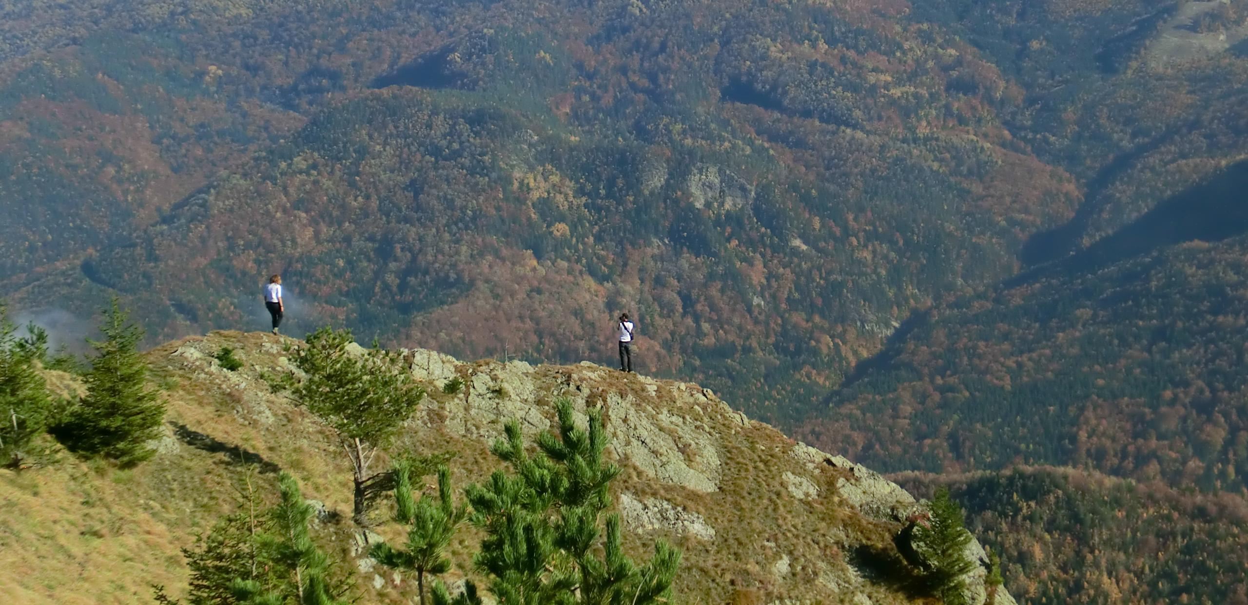 87 - 12.10.2013 - De la La Uluce ne-am abătut spre un punct de belvedere - Tură Muntele Coza