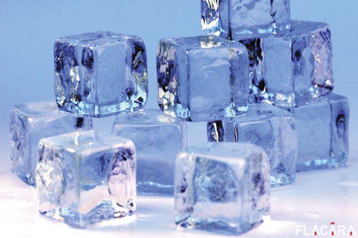 gheață cu gheață varicoasă