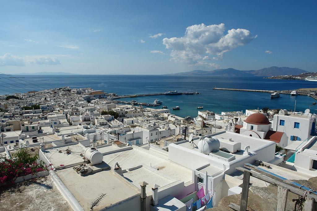 insula Mykonos din Grecia