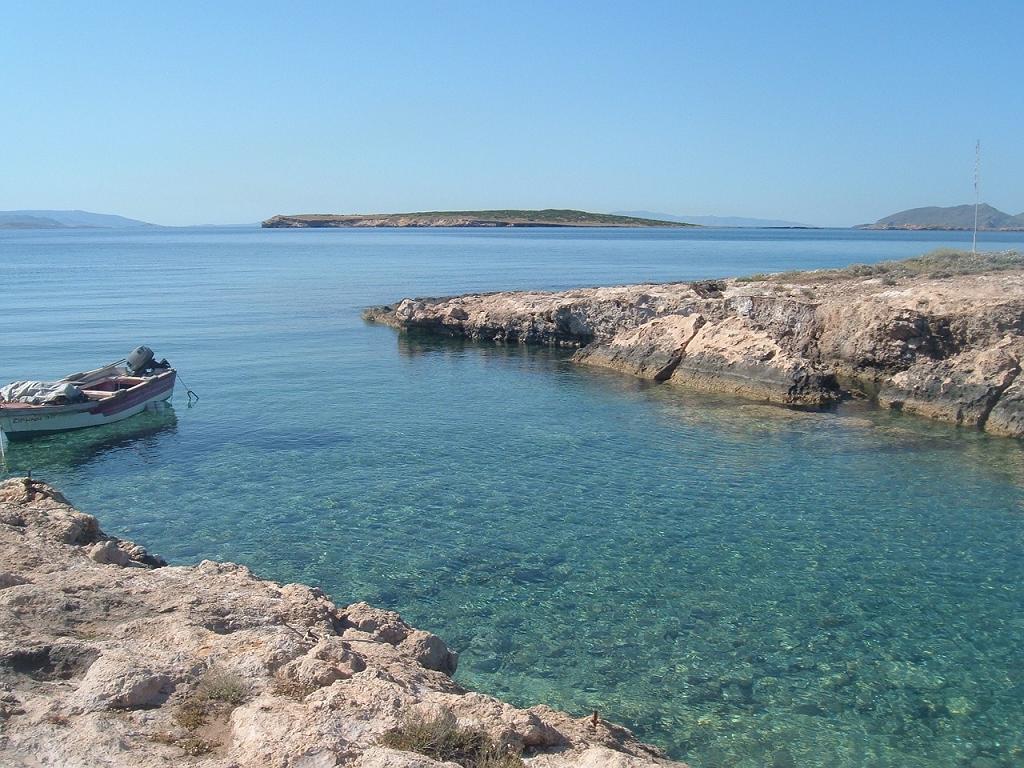 insula Paros din Grecia