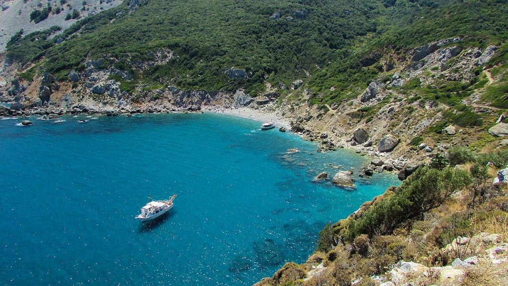 insula Skiathos din Grecia