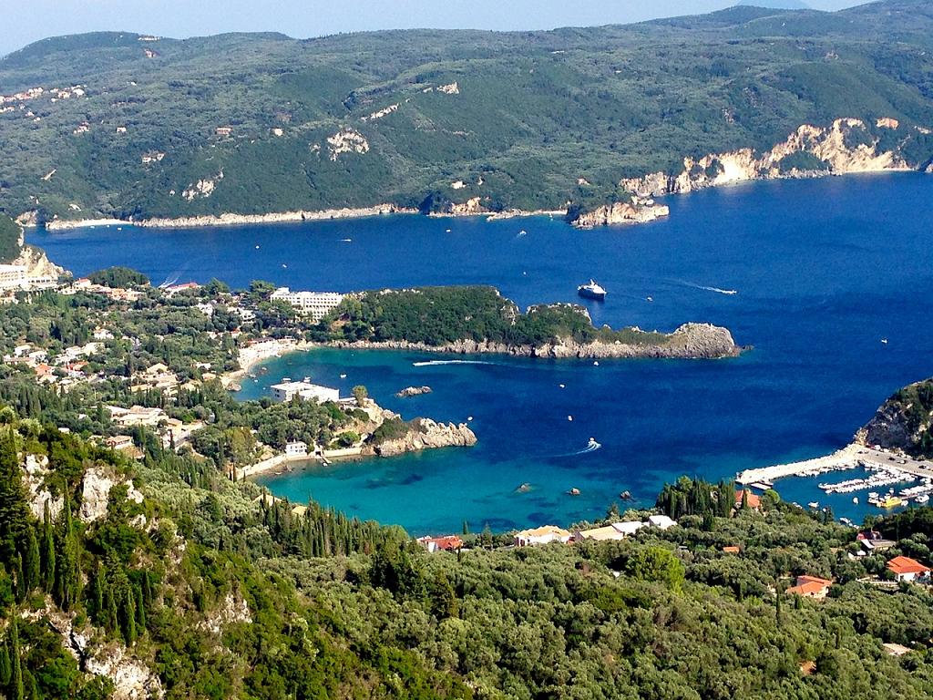 insula Corfu din Grecia