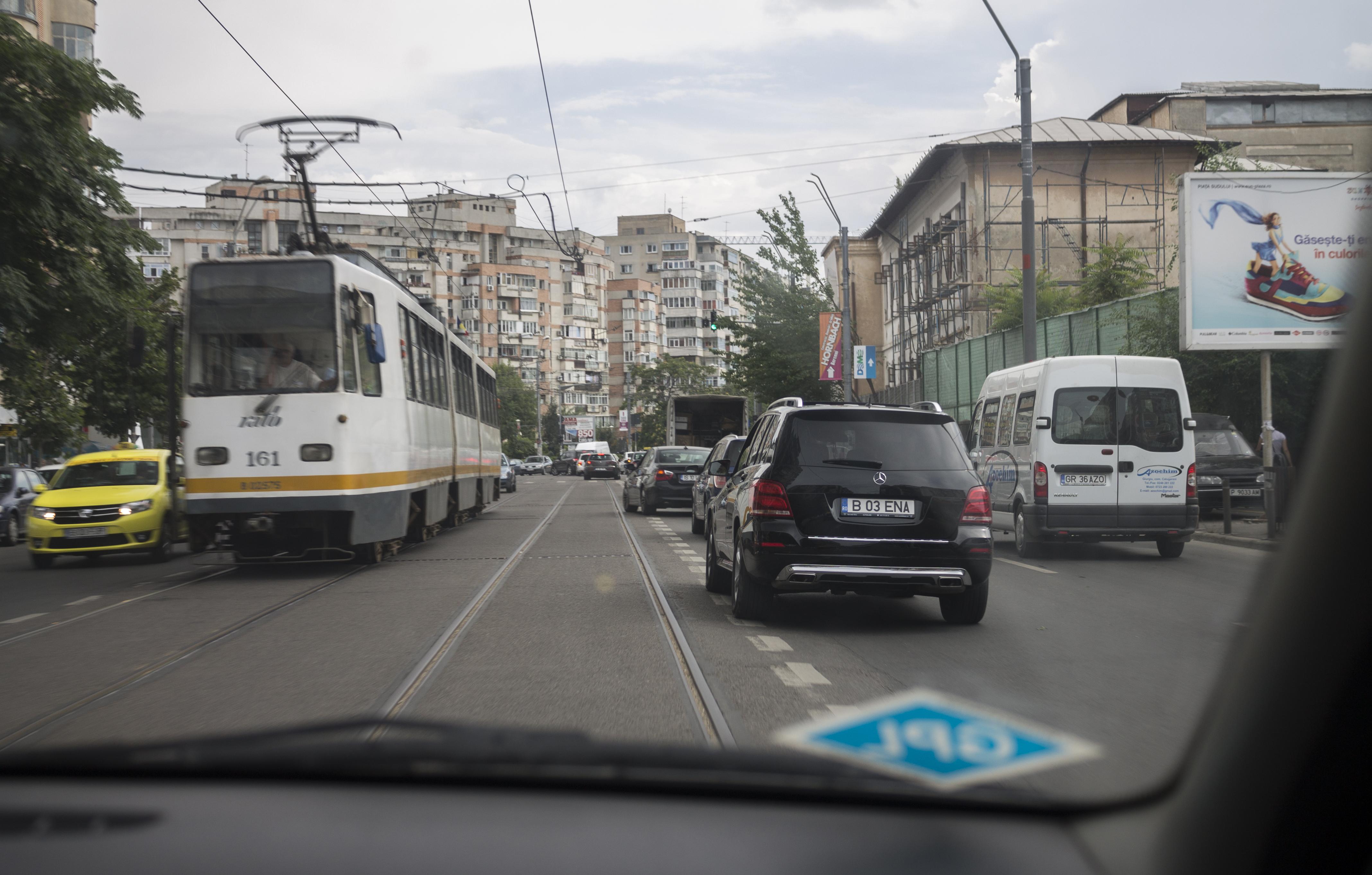 Bucurestiul, vazut din taxi