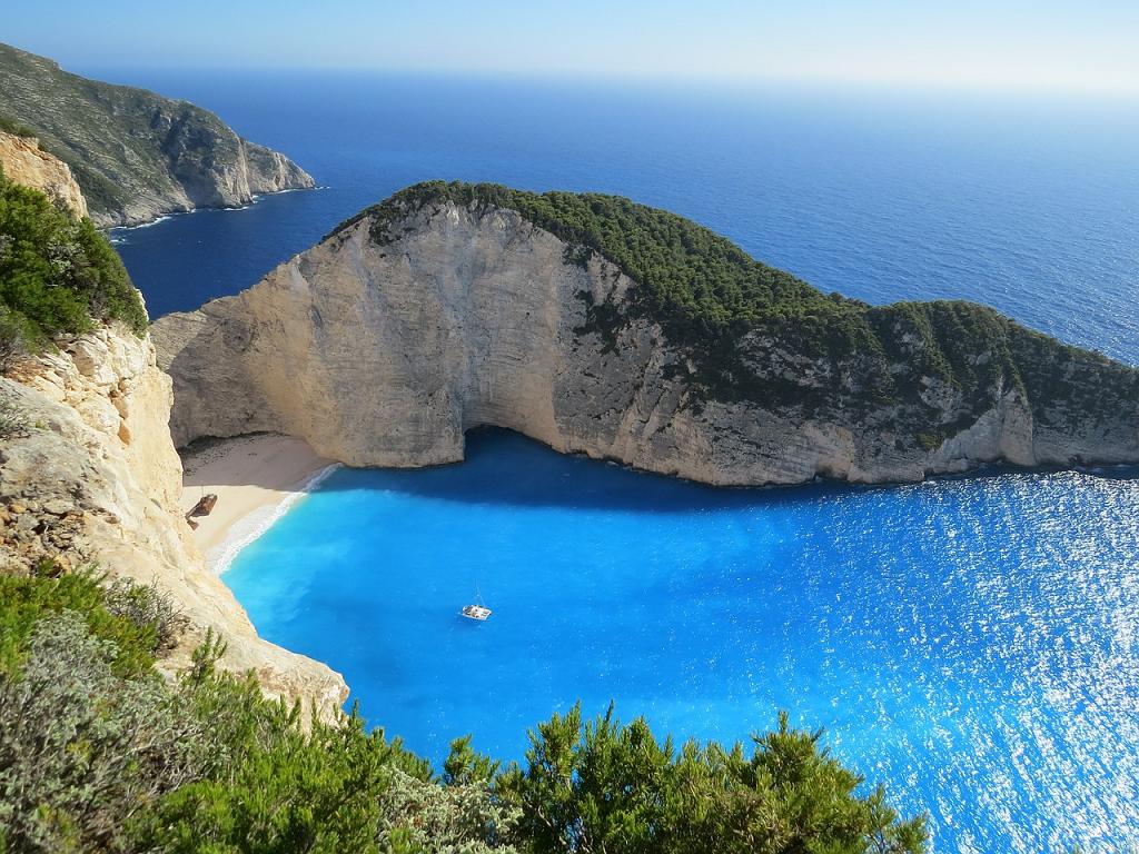 plaje superbe din Grecia