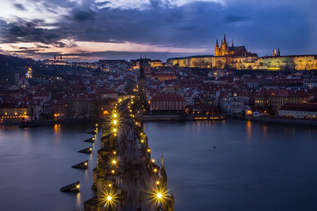 peisaj din Praga Cehia