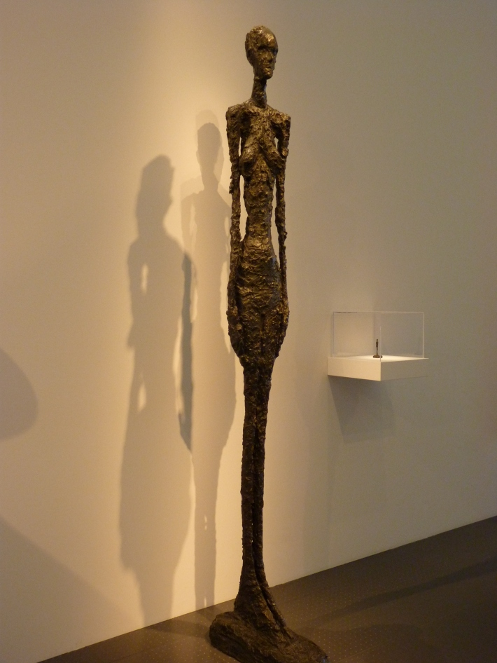 Alberto Giacometti; Grande femme debout II, Foto: monavalotteblogue.wordpress.com