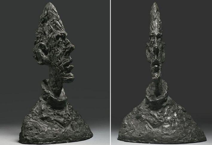 Alberto Giacometti cap mare si subtire, Foto: luxesh.nl