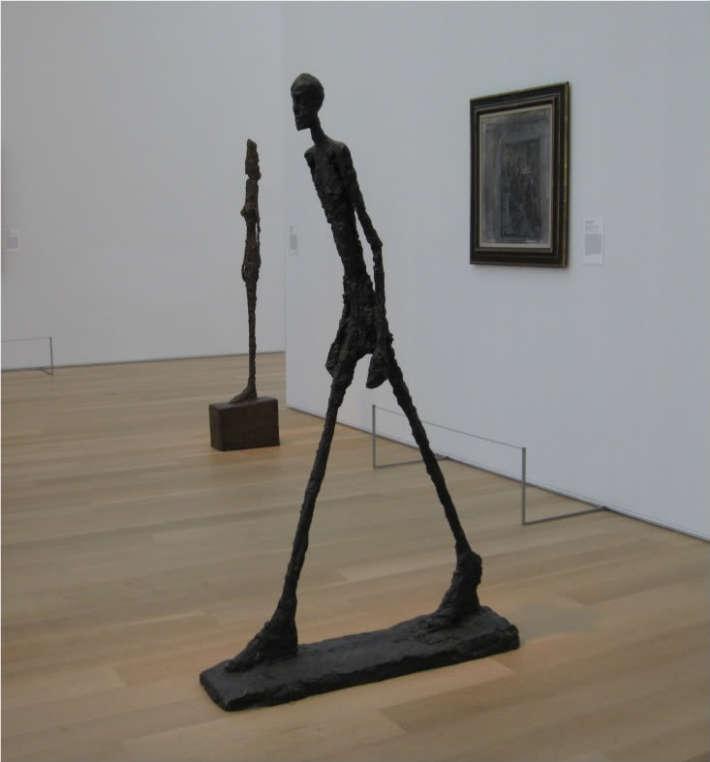 Alberto Giacometti omul care merge, Foto: bellaonline.com
