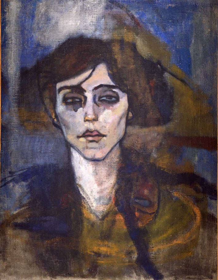 Amedeo Modigliani; Portretul lui Maude Abrantes, Foto: thisisniceyeah.blogspot.ro