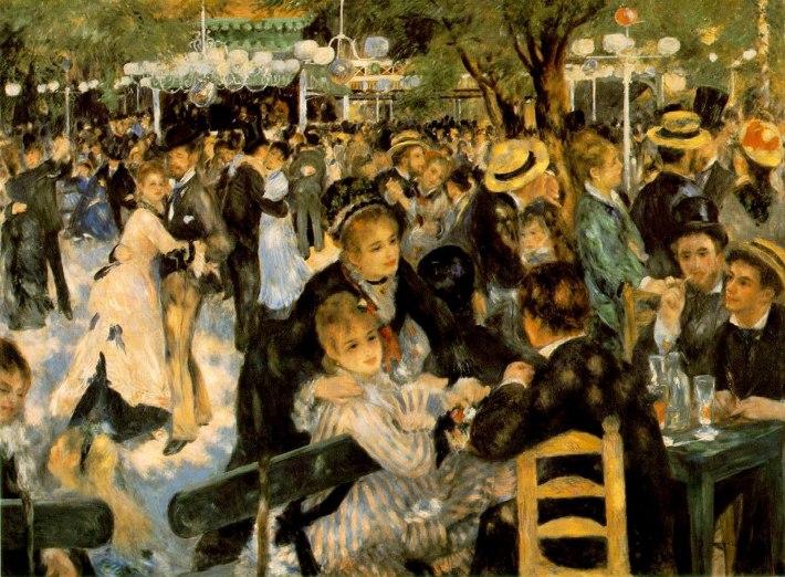 Auguste Renoir; Le Moulin de la Galette, Foto: artnetwork.freedommen.com