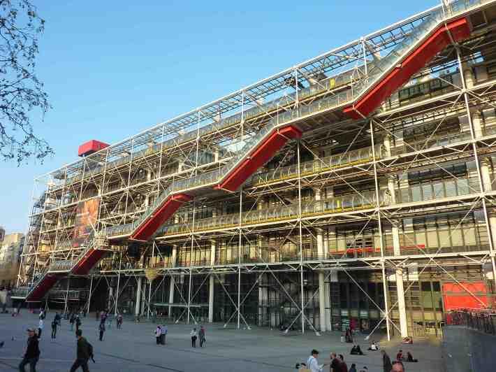 Centrul cultural Georges Pompidou, Foto: wishurhere.wordpress.com