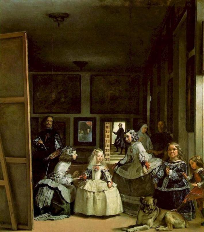 Diego Velazquez; Las Meninas, Foto: studyblue.com