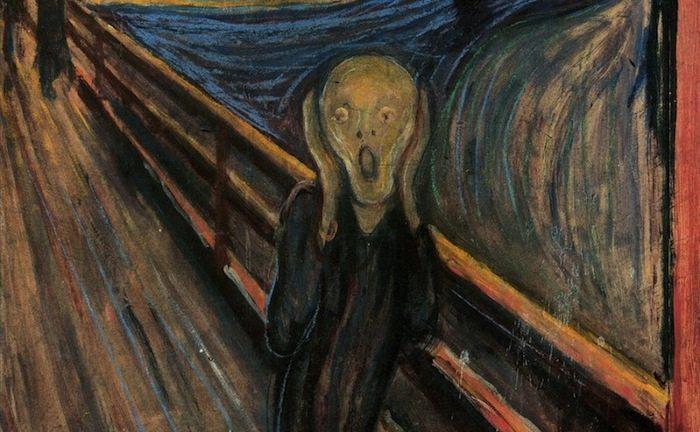 Edvard Munch; Tipatul, Foto: punchnels.com