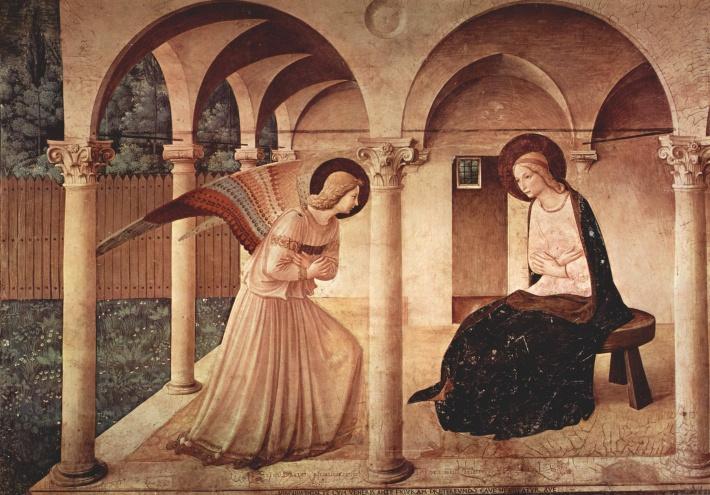 Fra Angelico; Buna vestire, Foto: laurenthearthistorian.com